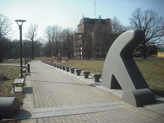 Lietuvos_verslo_aleja_skulptoriai_Slapikas_Pauliukaitis